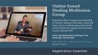 Monthly Online Sound Healing Meditation Group
