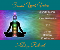 Sound Your Voice - 3 Day Retreat